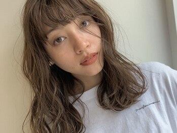 アピッシュ アオヤマ(apish AOYAMA)の写真/【apish】 王道カワイイ前髪ならお任せ!しっかりとカウンセリングしてくれるので理想の髪型が叶う♪