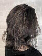 オーブ ヘアー フロート 京都5号店(AUBE HAIR float)【AUBE HAIR】セミハイライト_フリンジロブ
