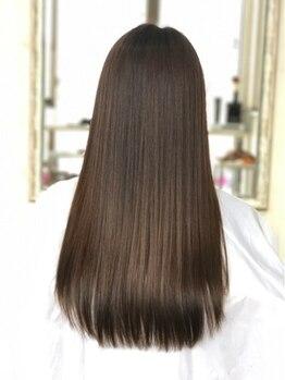 ヘアー メロディー(hair MELODY)の写真/毛先までするん♪COTA『生トリートメント』ダメージや状態に合わせてしっとりさらさらに髪質改善♪
