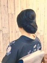 ヘアースペース ムーン(Hair Space MOON)イベント結婚式お祝い事などの着付けとヘアセットは表町ムーンで