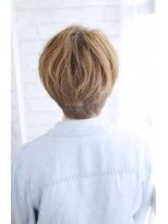 美髪デジタルパーマ/バレイヤージュノーブル/クラシカルロブ/814