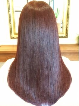 ニコ ヘアデザイン(nico hair design)の写真/オススメ☆ハーブ入トリートメント!内側からうるおい、思わず触りたくなるさらさらヘアー♪