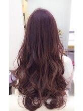 リライト(rewrite)☆髪の艶と肌艶感もアップ出来るピンクブラウンヘアカラー☆