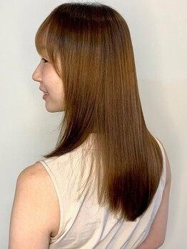 エンリエアー(enri h air)の写真/髪や頭皮のケアを徹底追及するエキスパートが大人女性特有の髪質のお悩みを解決へ導きます*