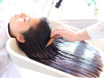 サラヘアー(sarah hair)の写真/日頃頑張る私へご褒美♪『ベルジュバンス美髪ヘアエステ』で癒し×綺麗を同時に叶える極上のRelaxTime…!!