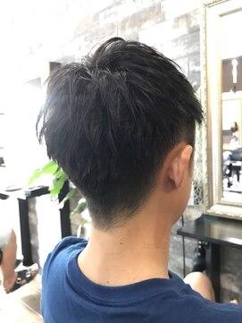 リル 阪神尼崎(LiL')爽やかツーブロック 刈り上げネープレス