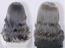 ラピセット(HAIR PRODUCE Lapset)の雰囲気(髪質改善☆艶&透明感のあるグレージュ/縮毛矯正★)