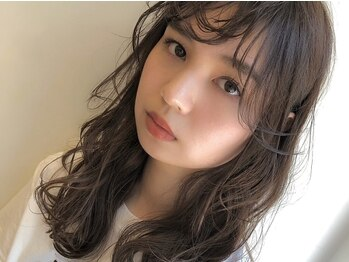 アピッシュ アオヤマ(apish AOYAMA)の写真/【apish】の外国人風スウィートフリルパーマ☆見違えるほど可愛くなる!髪に悩みがある人も信頼をよせる技術