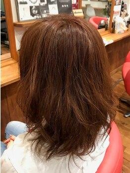 美容室 ルーチェ(LUCE)の写真/人気のイルミナカラー・Rカラーなどカラー剤の取り揃えが充実◎希望や髪質に合わせてご提案します♪