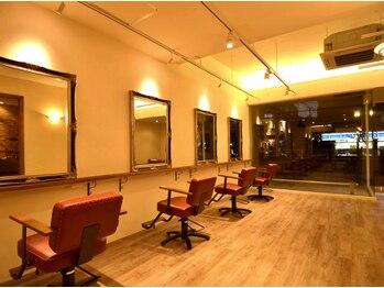 ヘア デザイン スタイリー(Hair Design stylee)の写真/【超ベテランStylist在籍】4席のみのゆったりとした空間◆的確な提案と巧みなカットで創る、似合わせstyle
