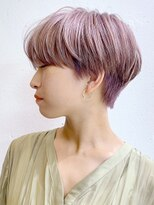 アルバム シンジュク(ALBUM SHINJUKU)ライトアッシュ_オリーブカラーハイライトカラー_ba307432
