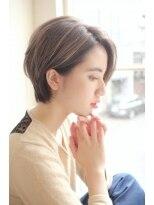 ガーデン ハラジュク(GARDEN harajuku)【Grow】高橋 苗 美シルエット☆大人可愛い小顔ショートヘア