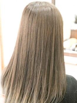 ヘアガーデンエヌズ(Hair garden N's)の写真/[髪質改善]とことんダメージレスにこだわった縮毛矯正は《もともとTR入り◎》半永久的に続く美髪へ【白岡】