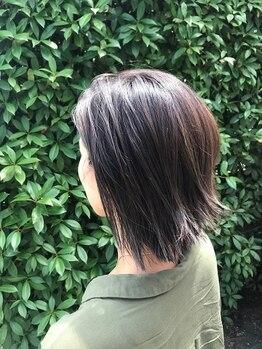 コースト ヘアアンドデザイン(COAST hair&design)の写真/ハイライト・Wカラーなどの外国人風Styleならお任せ♪THROWカラー取扱★ブリーチなしで透明感カラー叶う!