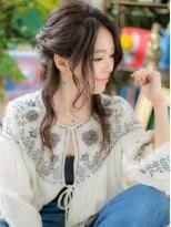 カバーヘア ブリス 北浦和西口店(COVER HAIR bliss)*+COVER HAIR+*ボヘミアンテイストがGOOD♪小顔ハーフアップbc