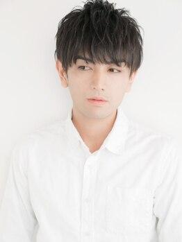 レイ(ray.)の写真/炭酸クレンジング☆スキャルプシャンプー+カット¥4000★トレンド×似合わせでスタイリングがよりキマる!!