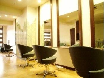 ヘアメイク グラント(HAIR MAKE GRANT)の写真/【贅沢☆貸し切り空間】マンツーマンのプライベートサロンだから叶う!日常の中にリラックスタイムを♪