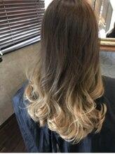 クレア ヘアー アーバン 本店(CREA hair urban)グレージュ×グラデーションカラー