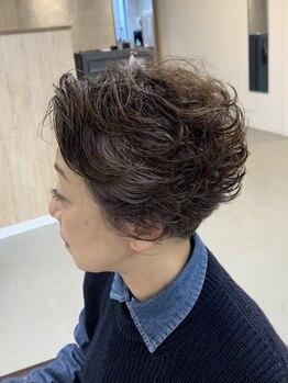 ティティ(titi)の写真/【祝◇1周年】白髪が気になり始めた大人女性必見!!白髪染めでも、明るく透明感のあるカラーが叶う◎