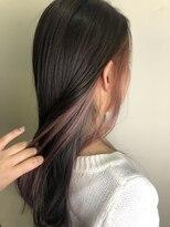 ヘアサロンエム フィス 池袋(HAIR SALON M Fe's)イヤリングカラー×ピンク