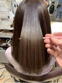 ミッシェルバイアフロート(Michelle by afloat)の写真/《話題のミネコラトリートメント導入》髪質改善トリートメント【ミネコラ】で髪の芯から本質的に改善◎