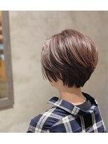 クレエ ヘアー デザイン(creer hair design)ナチュラルショート
