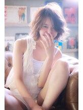 マイティバイエイチ(mighty by H)mighty juicy girl×外国人風wave