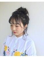 ヘアメイク オブジェ(hair make objet)ゆるふわアレンジ KAI