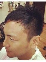 ヘアーサロン テイル リバー(Hair Salon Tail River)頭の形をすっきり見せるソフトモヒカンスタイル☆
