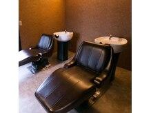 ヘアアトリエオット(hair atelier 8 otto)の雰囲気(業界最高級フルフラットシャンプー台で極上のリラックスタイム)