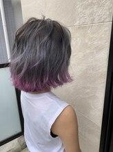 ヘアーアンドメイクランプ(Hair & make Lamp)パルージュスソカラー
