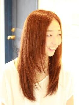 ログヘアアトリエ (log hair atelier)の写真/【口コミ150件以上♪】毎月カラーしてもダメージレス処方だから傷みづらい!!通う度に美しい髪へと導く☆