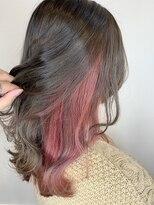 ロルド ポワール(Rold poire)【MASAYA】美髪×インナーカラー×コーラルピンク