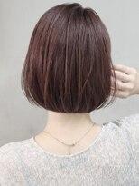 ソース ヘア アトリエ 京橋(Source hair atelier)ワインレッド