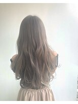 ヘアメイク オブジェ(hair make objet)ハイトーンアッシュベージュ