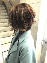 ルノン(LUNON)【LUNON】ハンサムショート×オレンジブラウン