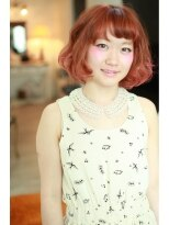 アリス ヘア デザイン(Alice Hair Design)Alice☆チェリーレッド&毛先ピンク