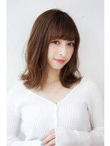 ヘアーメイク リアン 新田辺店(Hair Make REAN)◆REAN 京田辺/新田辺◆外ハネくせ毛風ふわミディ