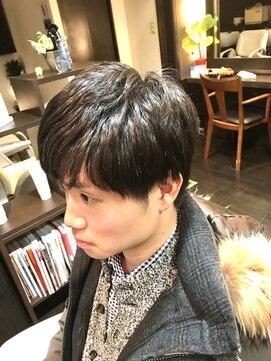 オムヘアーツー (HOMME HAIR 2)#爽やかショート #直毛の方へ #シークレットパーマ #Homme2櫻井