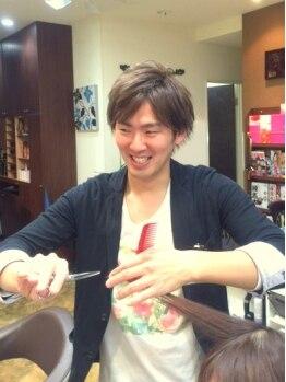 ヘアーリゾート 草流 井荻店(Hair Resort)の写真/【木元さん】カウンセリングを重視し実現させる力は群を抜いています!トレンドStyleはおまかせ☆