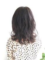 ヘアメイク オブジェ(hair make objet)レイヤーミディー