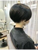 エトネ ヘアーサロン 仙台駅前(eTONe hair salon)ネープレスショートボブ