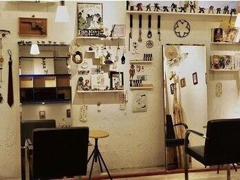 ボッサボッサの写真/<美容室に見えない美容室>