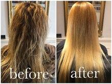 ◎より、難易度が高い髪、より高いクオリティをお望みの方にはPremium髪質改善矯正