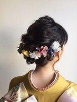 【Quarto】着物、夏の浴衣にぴったりなヘアセット☆