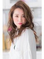 【miel hair blanc】外国人風3Dベージュカラー