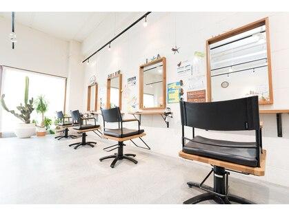 ヘアーステーション ハレラ(Hair station HaLe'LA)の写真