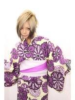 CAPSULE☆2016浴衣スタイルレトロック/ホワイトベージュ
