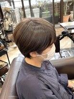 キャラ 池袋本店(CHARA)白髪ぼかしハイライトで作るアッシュグレー【白髪ぼかし/池袋】