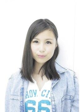 シンヤヘアーズ(SHINYA HAIRS)SHINYA original medium long style